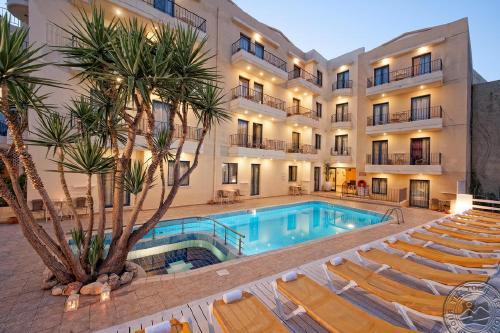 Kreta: MANOS MARIA HOTEL & APARTMENTS 4*, gegužės 4, 11, 18, 25 d. skrydžiams, 7 n., nuo 488,50 EUR